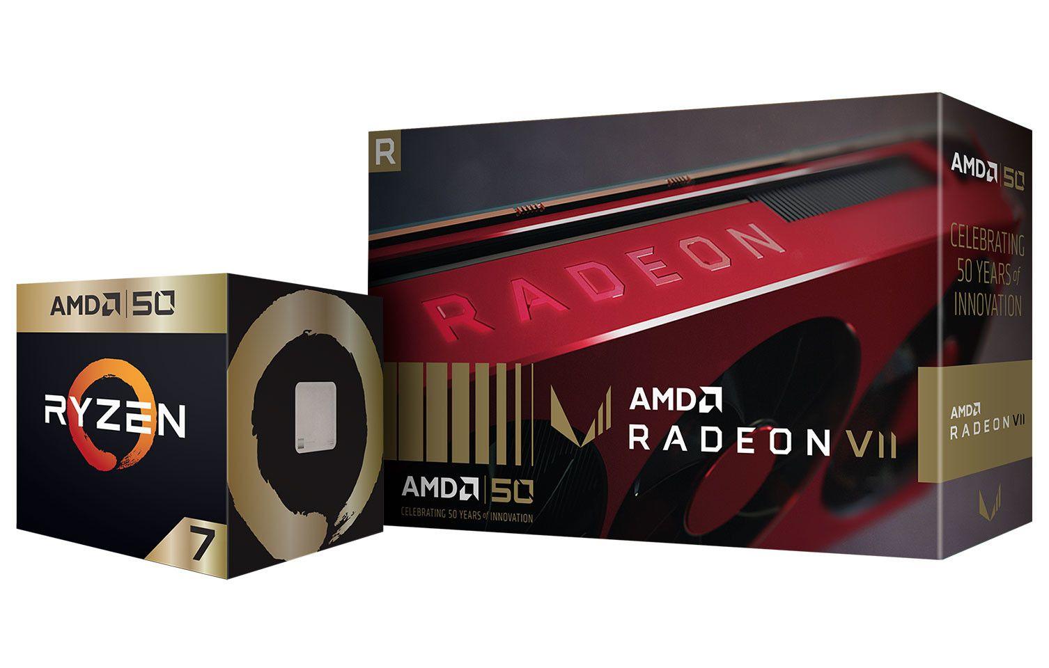 Amd Announces 50th Anniversary Commemorative Ryzen And Radeon Products 50th Anniversary Graphic Card 50th Anniversary Celebration