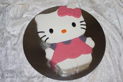 Hello Kitty Kake Bursdagskake Oppskrifter