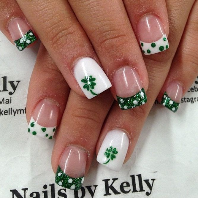24 Super Fun St Patricks Day Nail Art Ideas | Diseños de uñas, Arte ...