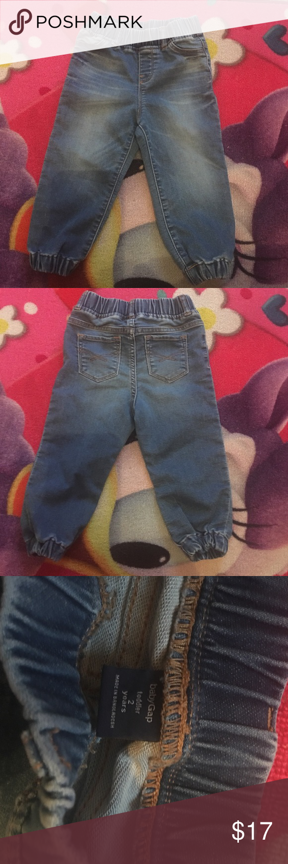 Toddler girl denim jeans 👖 Good condition, fitted ankle and true to size GAP Bottoms Jeans