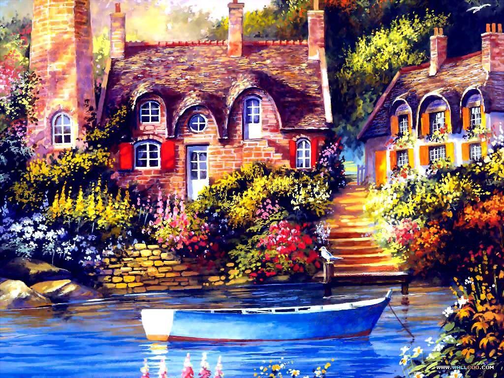 House paint art
