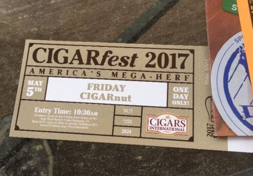 2017 Cigarfest CIGARNUT Ticket Friday May 5th -SOLD OUT Bloody Mary Breakfast https://t.co/wq91duEbcp https://t.co/PgpUWSuetW
