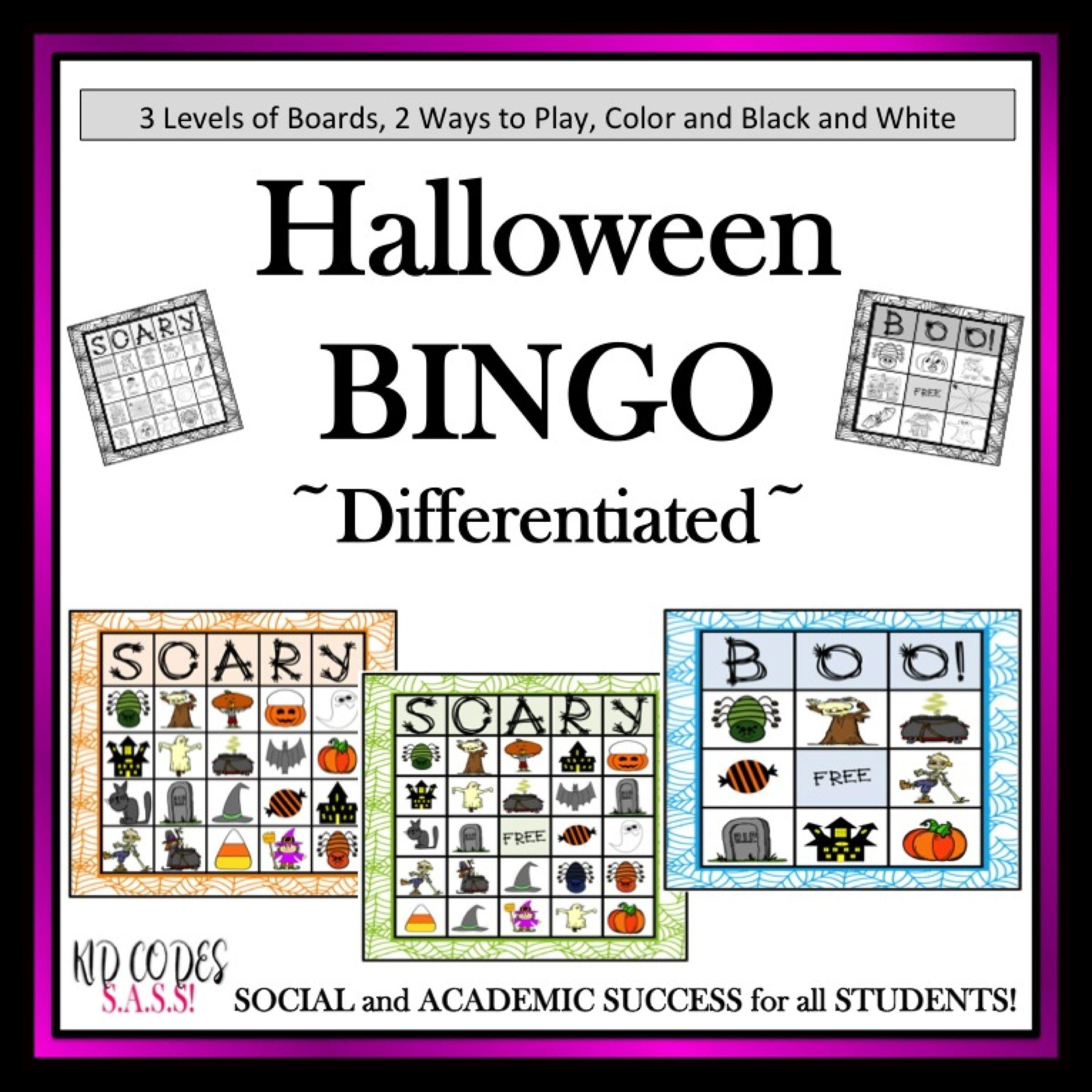 Großartig Halloween Bingo Vorlagen Zeitgenössisch - Entry Level ...