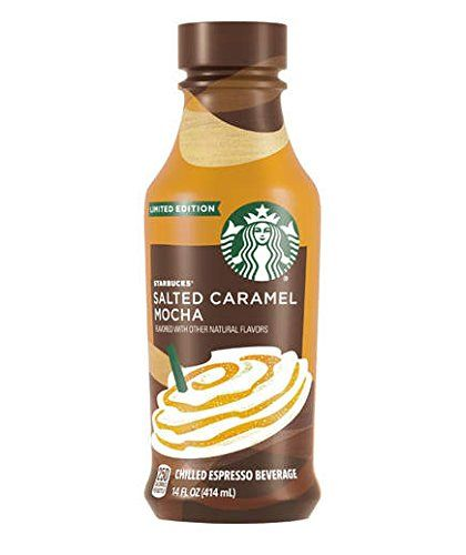 Limited Edition Salted Caramel Mocha Chilled Espresso