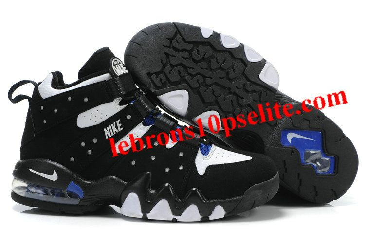 Charles Barkley Shoes - Nike Air Max2 CB 94 White/Black