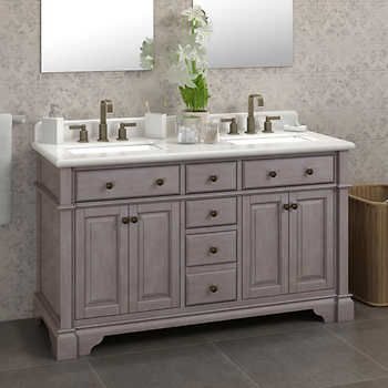 Kenston Vanity Collection By Lanza In 2020 Double Sink Vanity