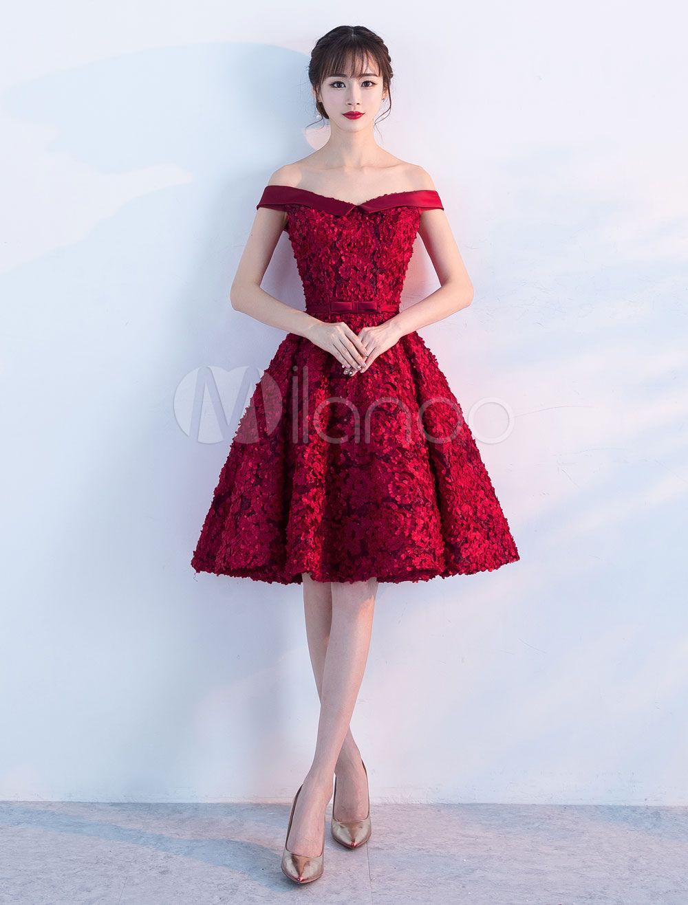 lace homecoming dresses off the shoulder short cocktail