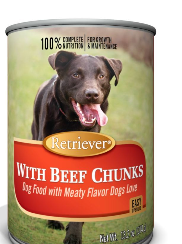 Retriever Beef Chunks Dinner Dog Food 13 2 Oz Tractor Supply