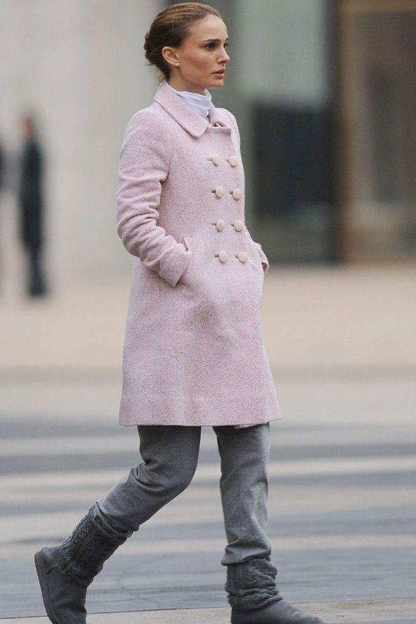 Natalie Portman sur le tournage de Black Swan portant un joli ...