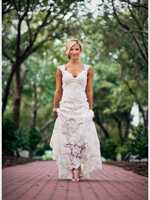 Monique Lhuillier Scarlett Wedding Dress On Off