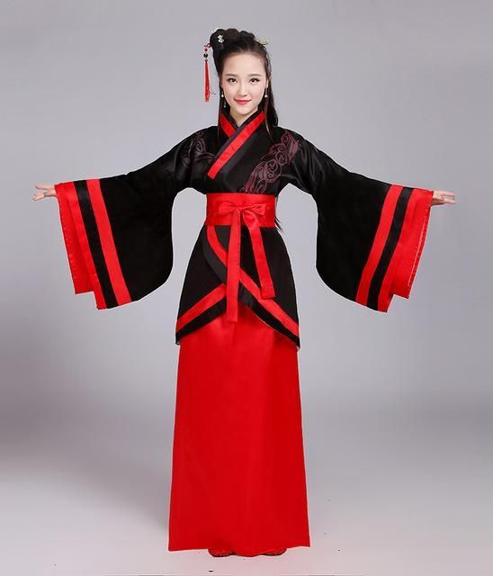75064ff94 woman traditional chinese dance costumes women sleeve hanfu fairy dress  chinese dance costumes women children for kids fan