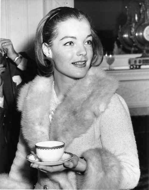 Romy Schneider, date unknown.