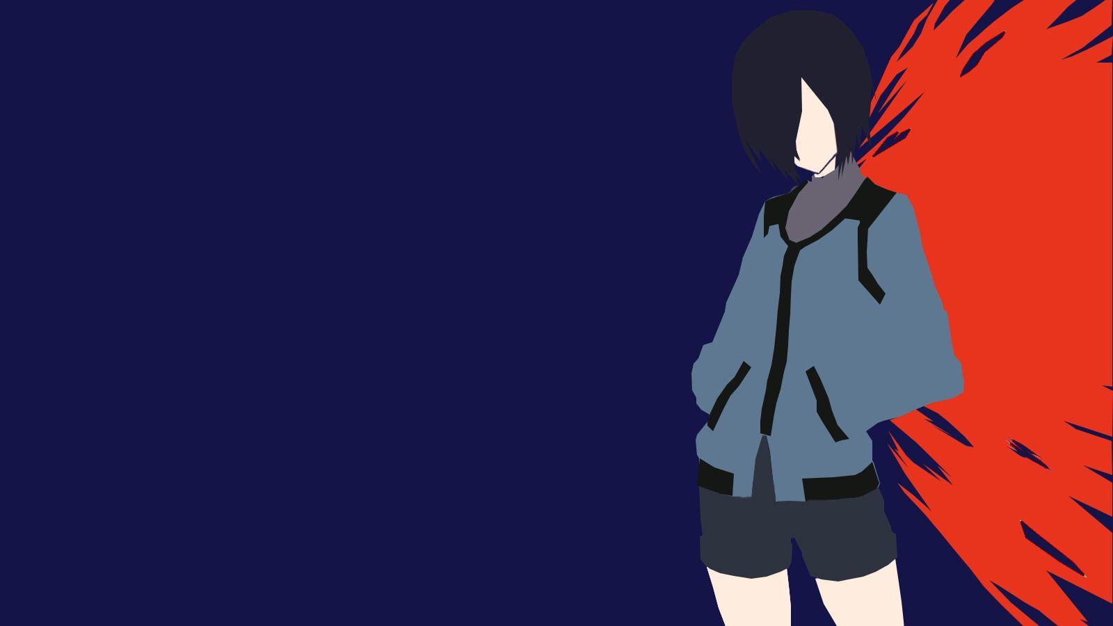 Kumpulan Wallpaper Minimalist Anime | wallpaper ubin