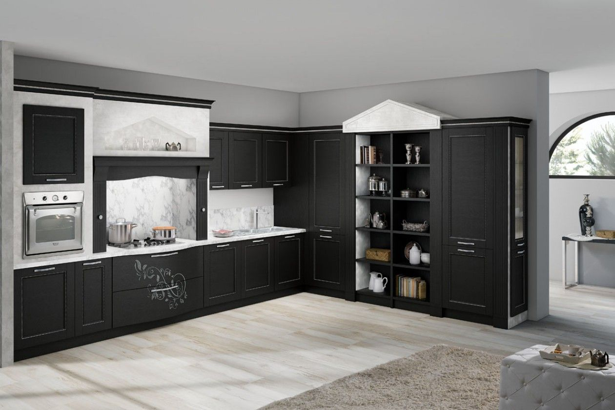 Kitchens that are precious and refined, with undisputed elegance and ...