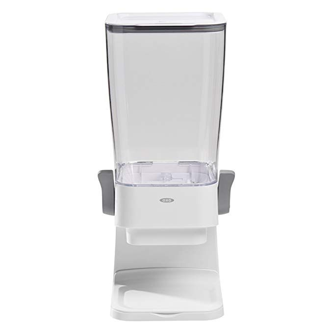Oxo Good Grips Countertop Cereal Dispenser Clear White