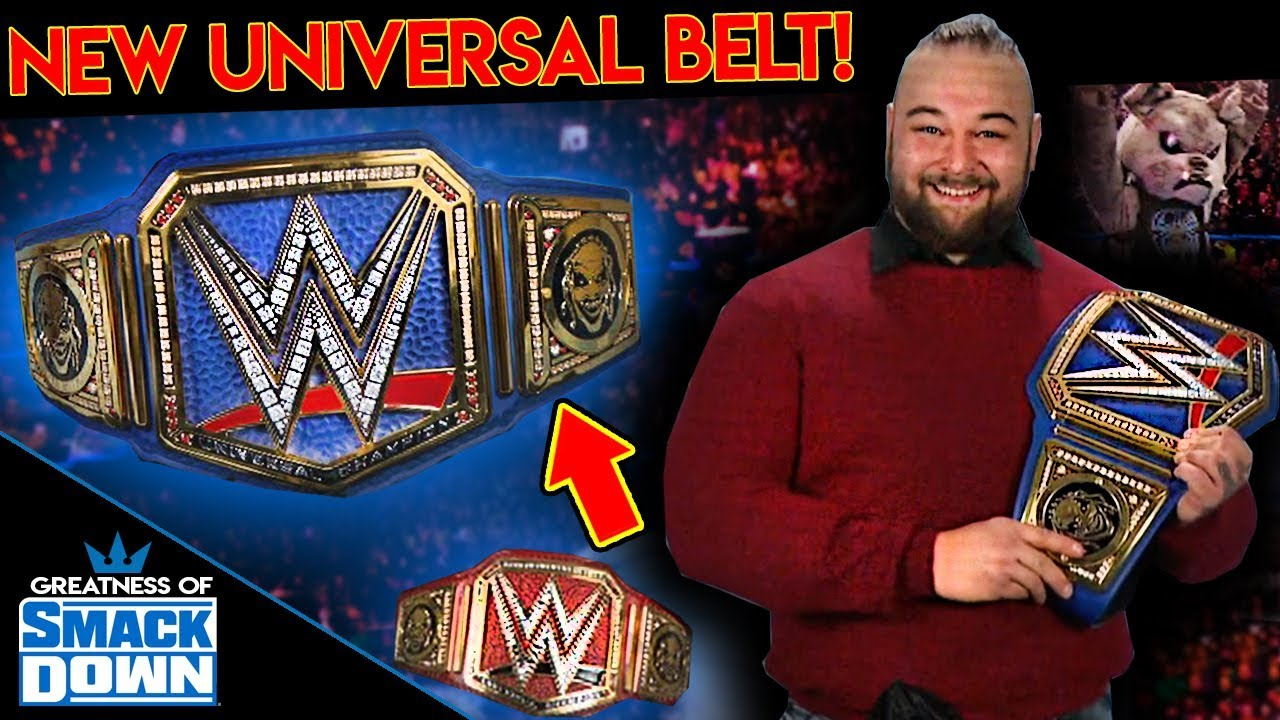 New Wwe Universal Title Belt Revealed Wwe Smackdown November 15 2019 Results Review