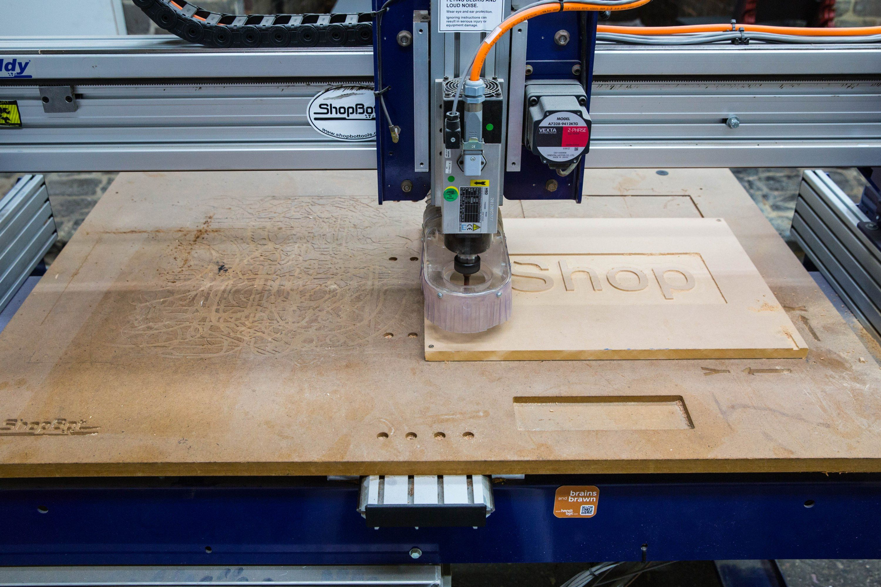 Anatomy of a CNC Router — Skill Builder | Cnc router, CNC and Cuttings