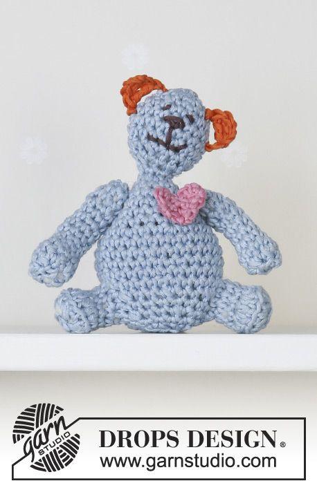 DROPS Baby 13-28 DROPS Muskat (4mm) | Amiguris | Pinterest | Crochet ...
