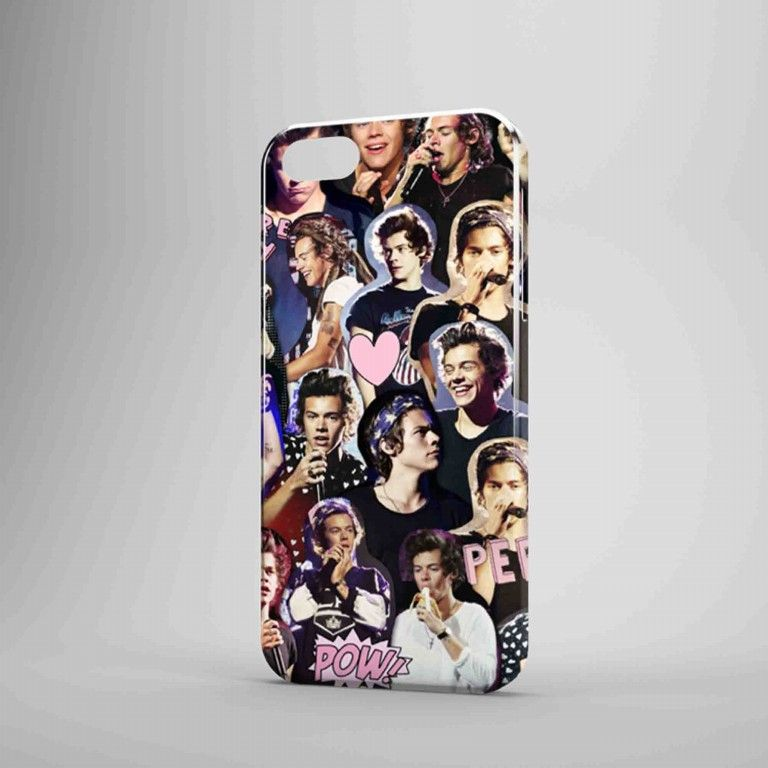 Harry Styles Collage One Direction TM00 3D iPhone Case Samsung Galaxy Case