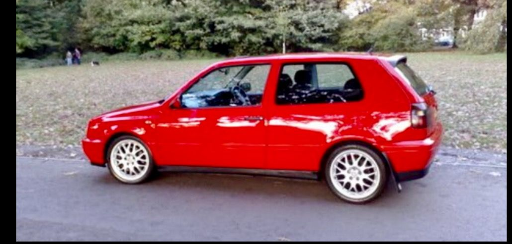 1997 Red Vw Golf Vr6 Mk3 With Images Vw Golf Vr6 Vw Golf Suv Car