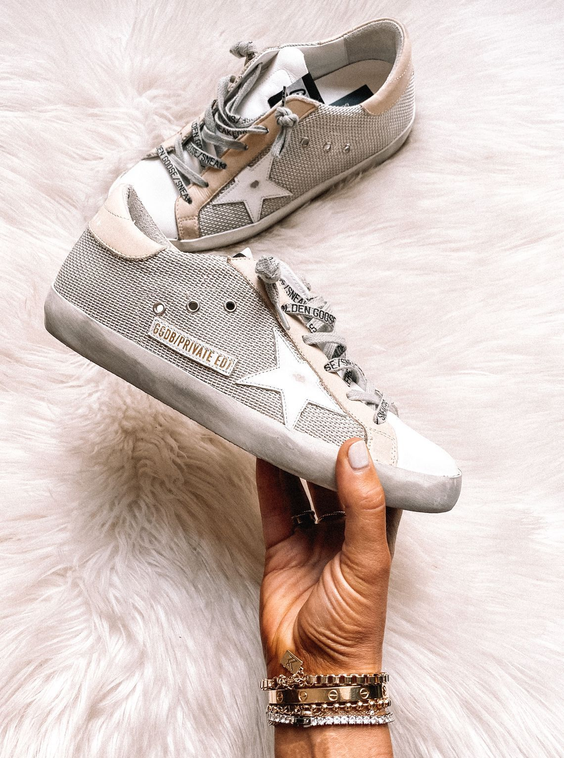 Neutral Golden Goose Sneakers, How to