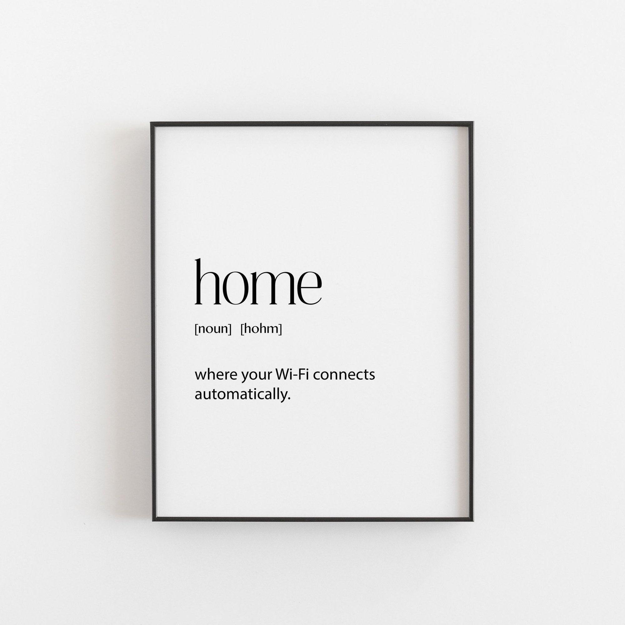 Wohnkultur New Home Wand Kunstdrucke herunterladbare