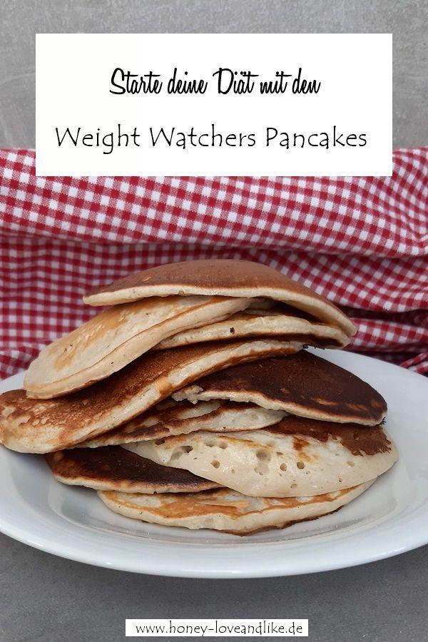 Weight Watchers Pancakes mit Skyr und Bananen - 1 Punkte Snack