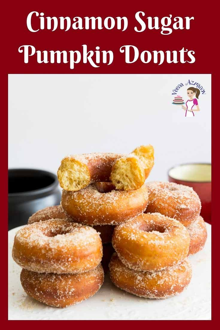 Learn to make the perfect fried pumpkin donuts with this step by step video tutorial. Made with pumpkin puree, pumpkin spice and cinnamon sugar -