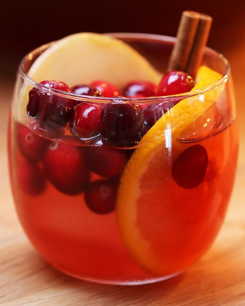 Cranberry Cider But Replace Alcohol With Apple Cider And