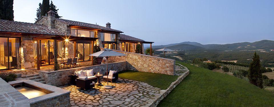 Borgo Il Castello Luxury Two Bedroom Villa Getaway In Tuscany Siena Chianti