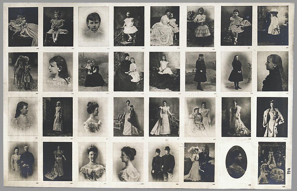 1898  Koningin Wilhelmina, van baby tot koningin