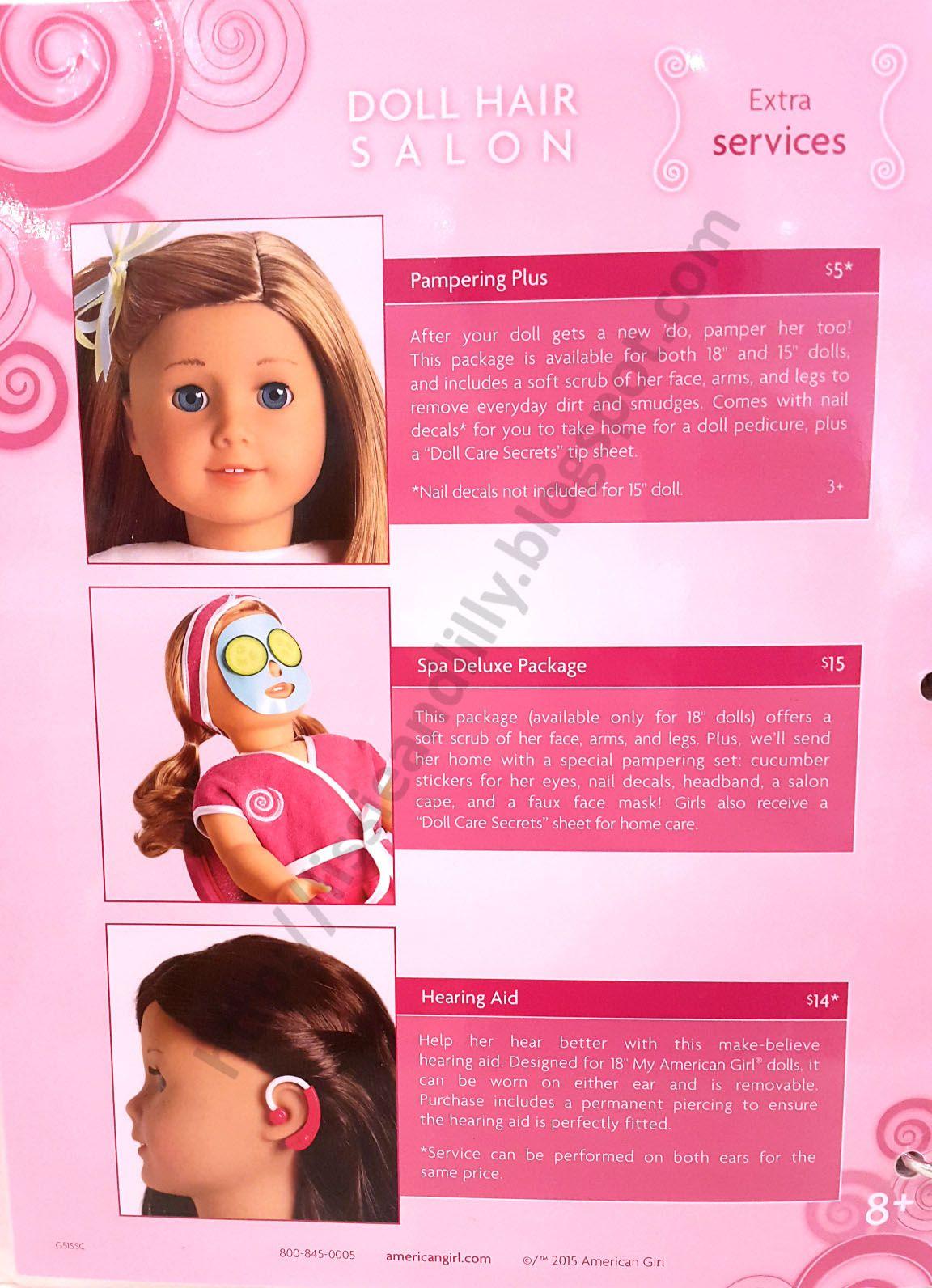 Ag Salon Hairstyles American Girl Hairstyles Hair Salon Doll Hair Repair