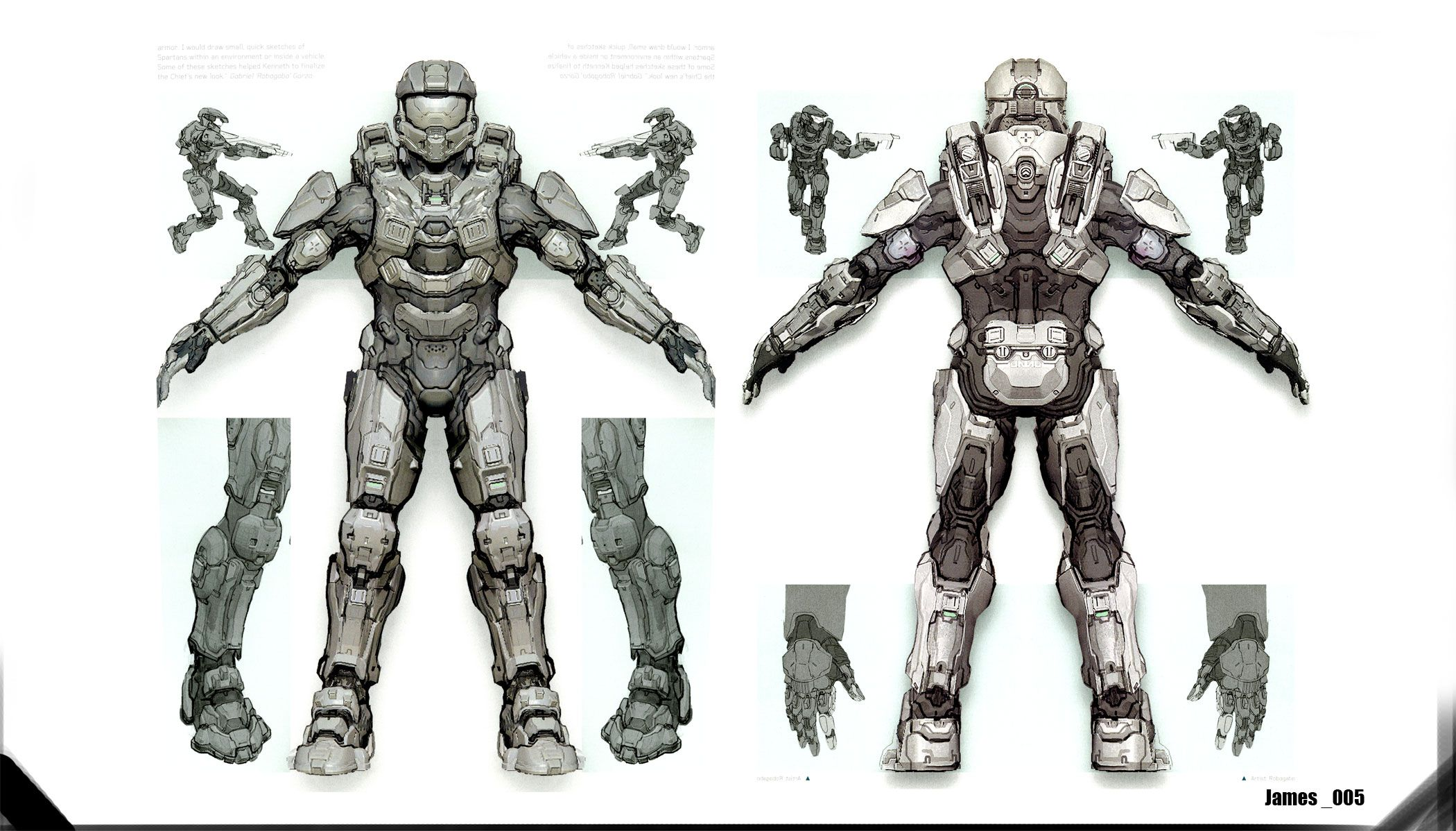 Halo 4 Master Cheif Armor Concept In