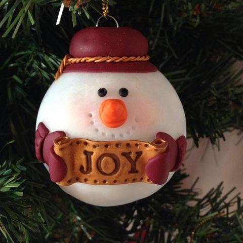 Ilfilodelleidee decorazioni natalizie fatte a mano in fimo per l 39 albero di natale lilia - Decorazioni natalizie fatte a mano per bambini ...