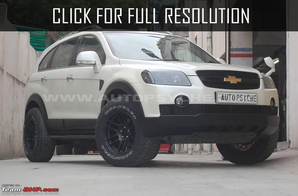 Chevrolet Captiva Modified Amazing Photo Gallery Some