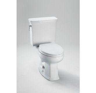 Toto Cst423efg 01 Eco Promenade Close Coupled Two Piece Toilet 1 28gpf In Cotton White Toto Toilet Toilet Bath Fixtures