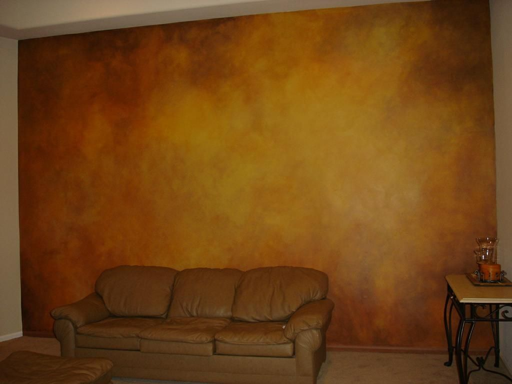 Faux Finishing Living Wall By Skywoods Decorative Painting And