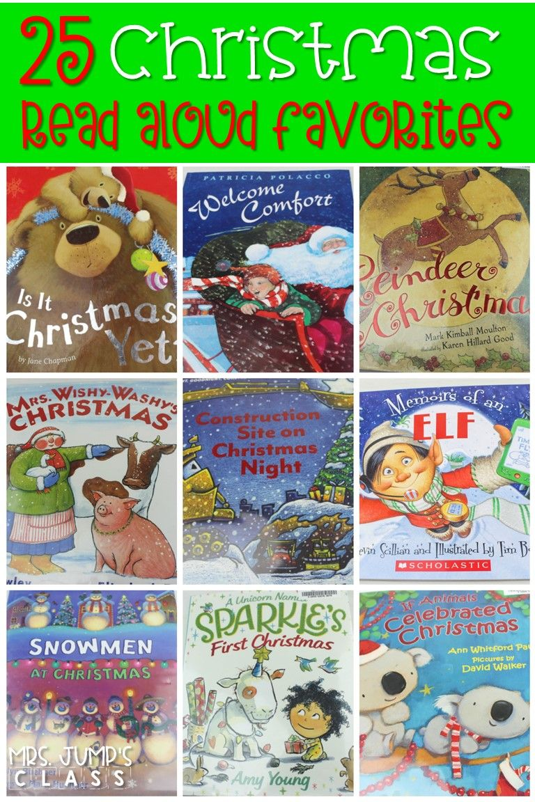 25 Christmas Read Aloud Books For The Primary Classroom Christmas Read Aloud Christmas Reading Activities Read Alouds Kindergarten