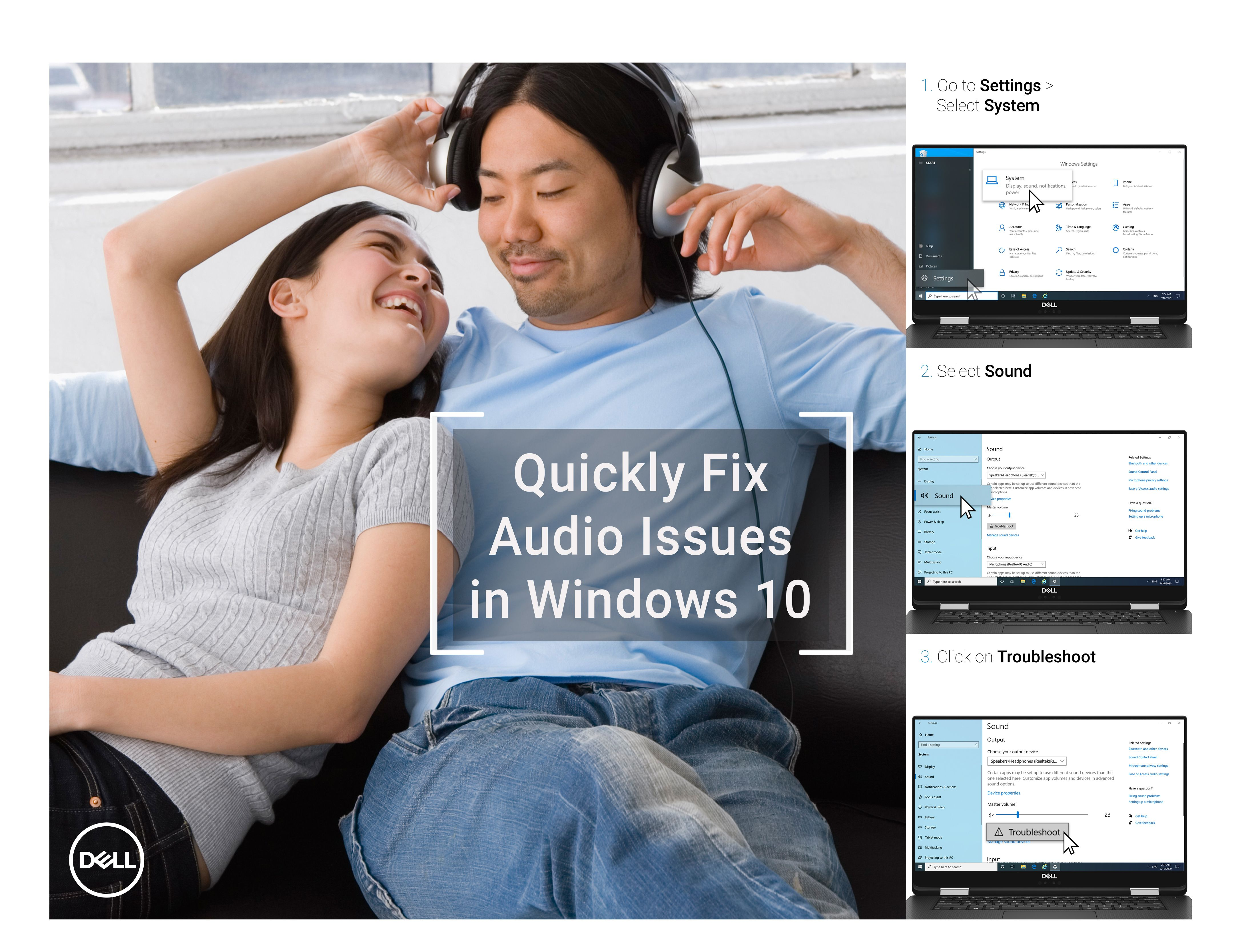 Fix Sound Problems In Windows 10 Windows 10 Mobile Review Sound