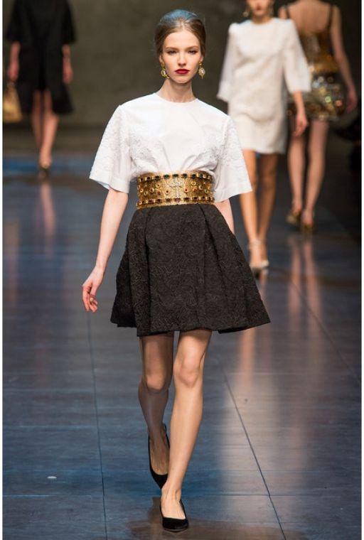 Обзор Buro 24/7: Dolce & Gabbana, осень-зима 2013/14, Buro 24/7