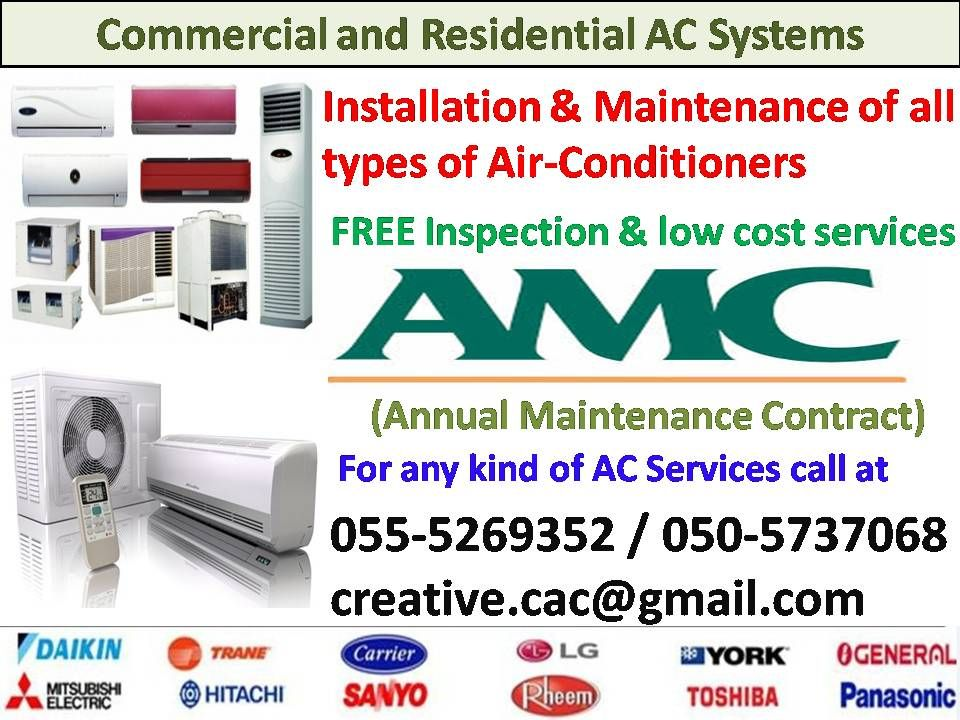 We provide FREE inspection and all types of Air