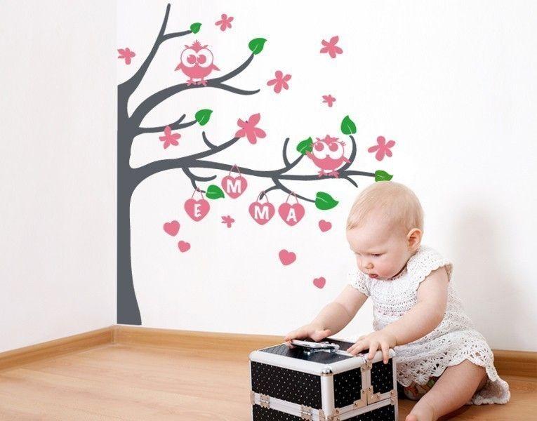 New Wandtattoo Eulenbaum Wandtattoos Kinderzimmer Babywelt