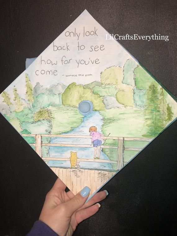 Custom Made Grad Cap Topper