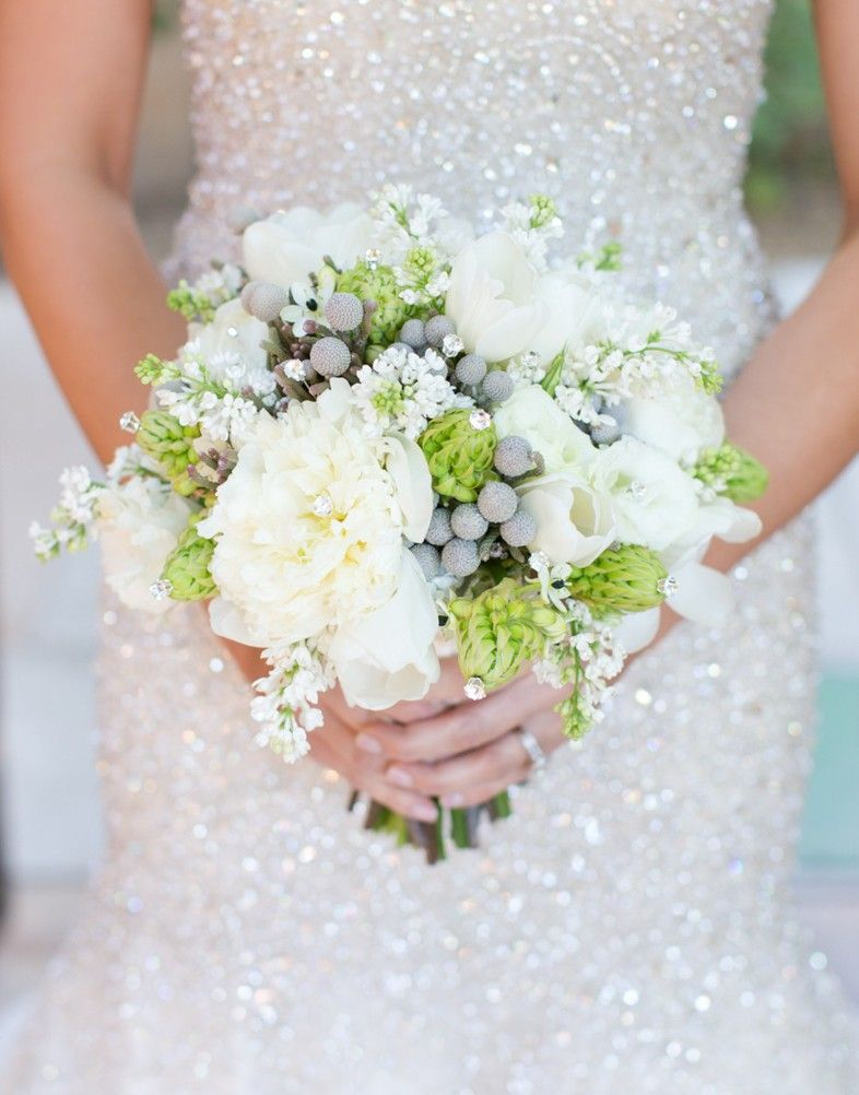Wedding dresses sparkly  Jeweled Bridal Bouquets  Strictly weddings Bridal bouquets and