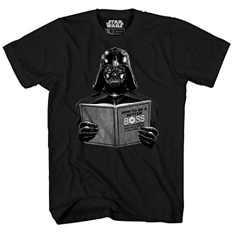 4212a31fcd Darth Vader Star Wars Dark Side Empire Funny Humor Pun Adult Men s Graphic  Tee T-
