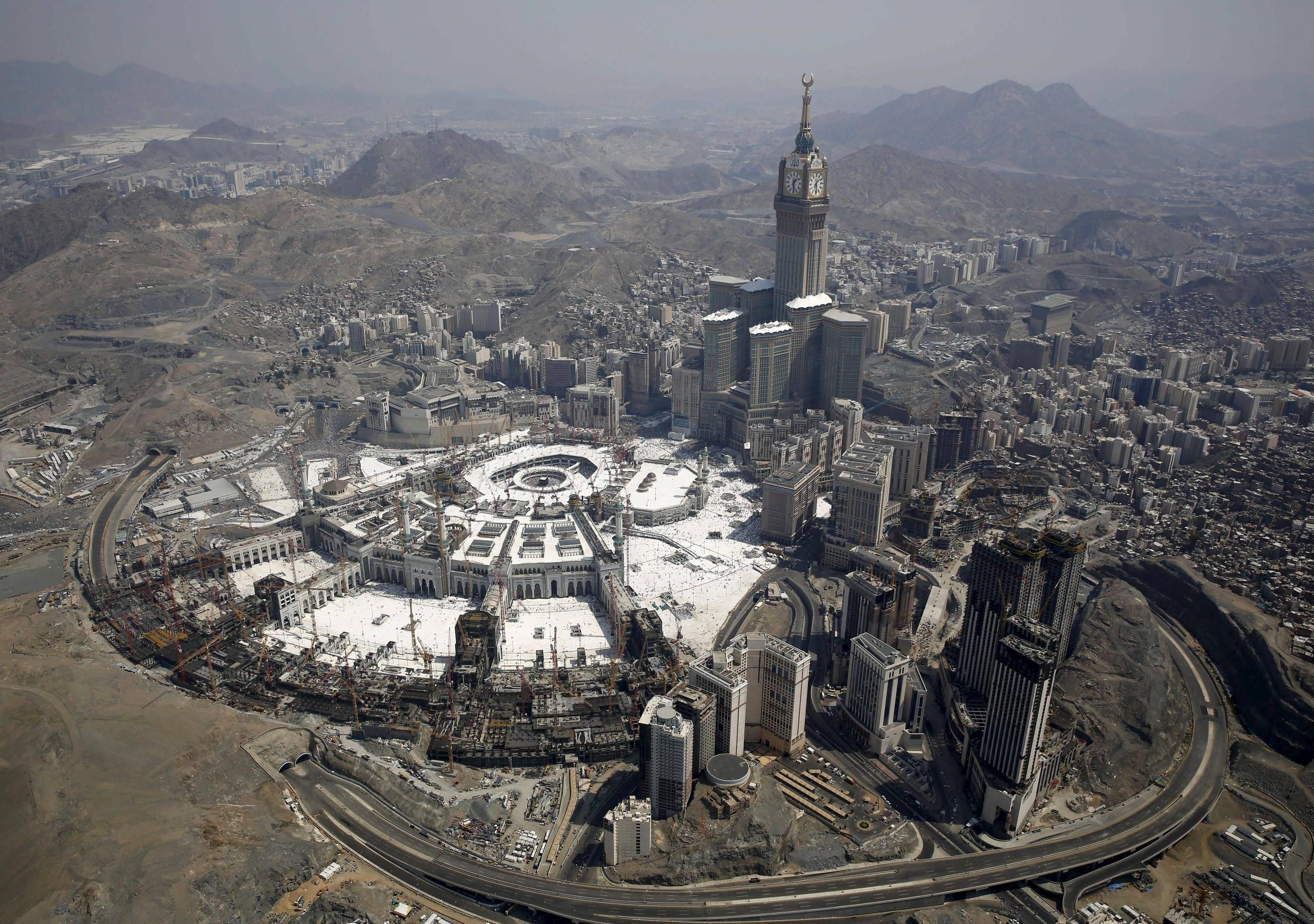 Masjid Al Haram Expansion Project 3500x2463 R Infrastructureporn Mecca Mosque Pictures Of The Week