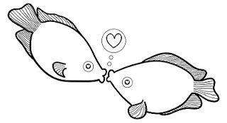 Lost in Paper Scraps: Fish Kiss Freebie