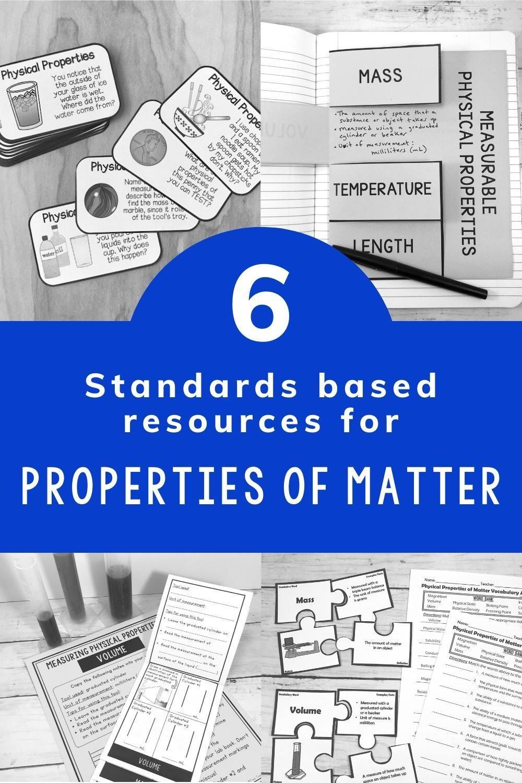 Physical Properties Of Matter Activities Bundle Physical Properties Of Matter Matter Activities Physical Properties