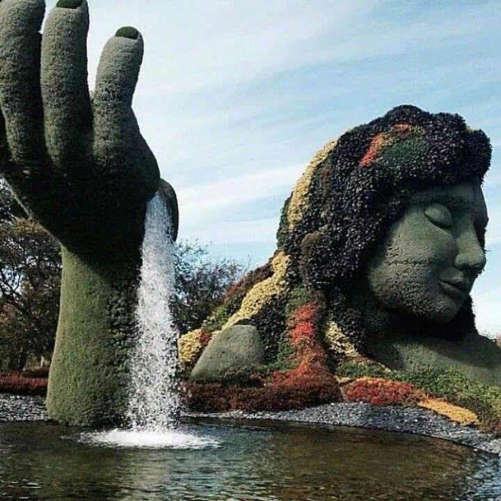 Amazing Places Canada: Mother Earth Sculpture Montreal, Canada