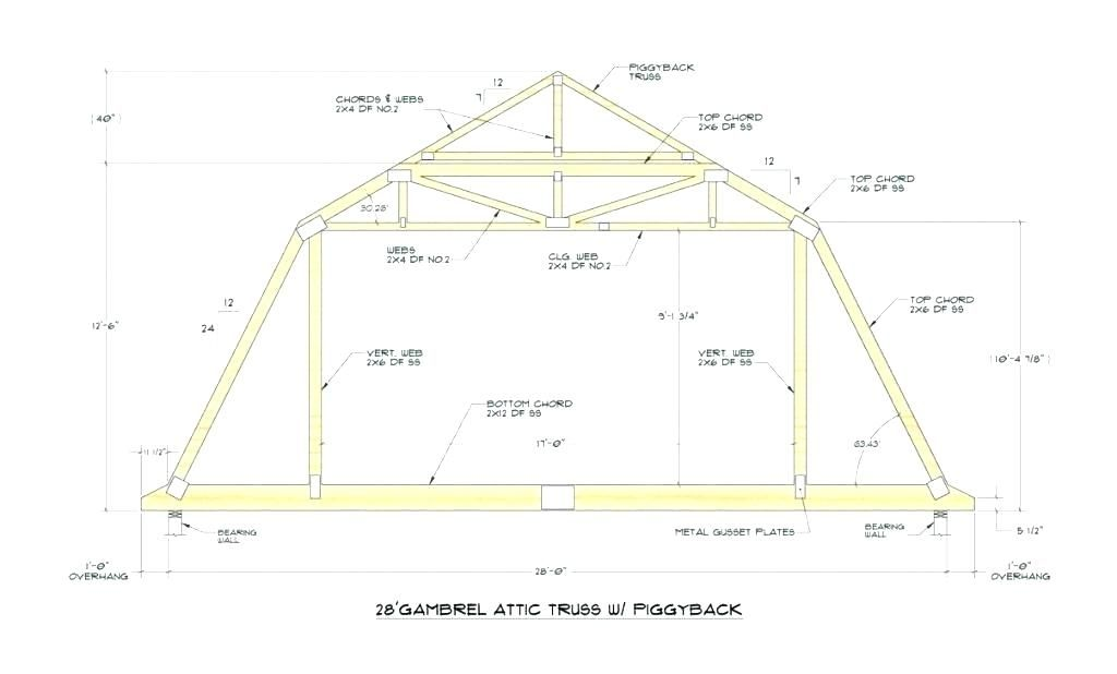 Gambrel Roof Truss Prices In 2020 Roof Truss Design Gambrel